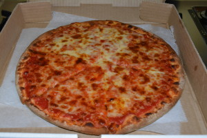 Plain gluten free pizza!