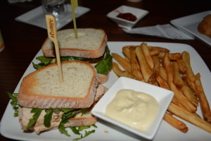 Gluten free Carved Turkey Sandwich at Be Our Guest.