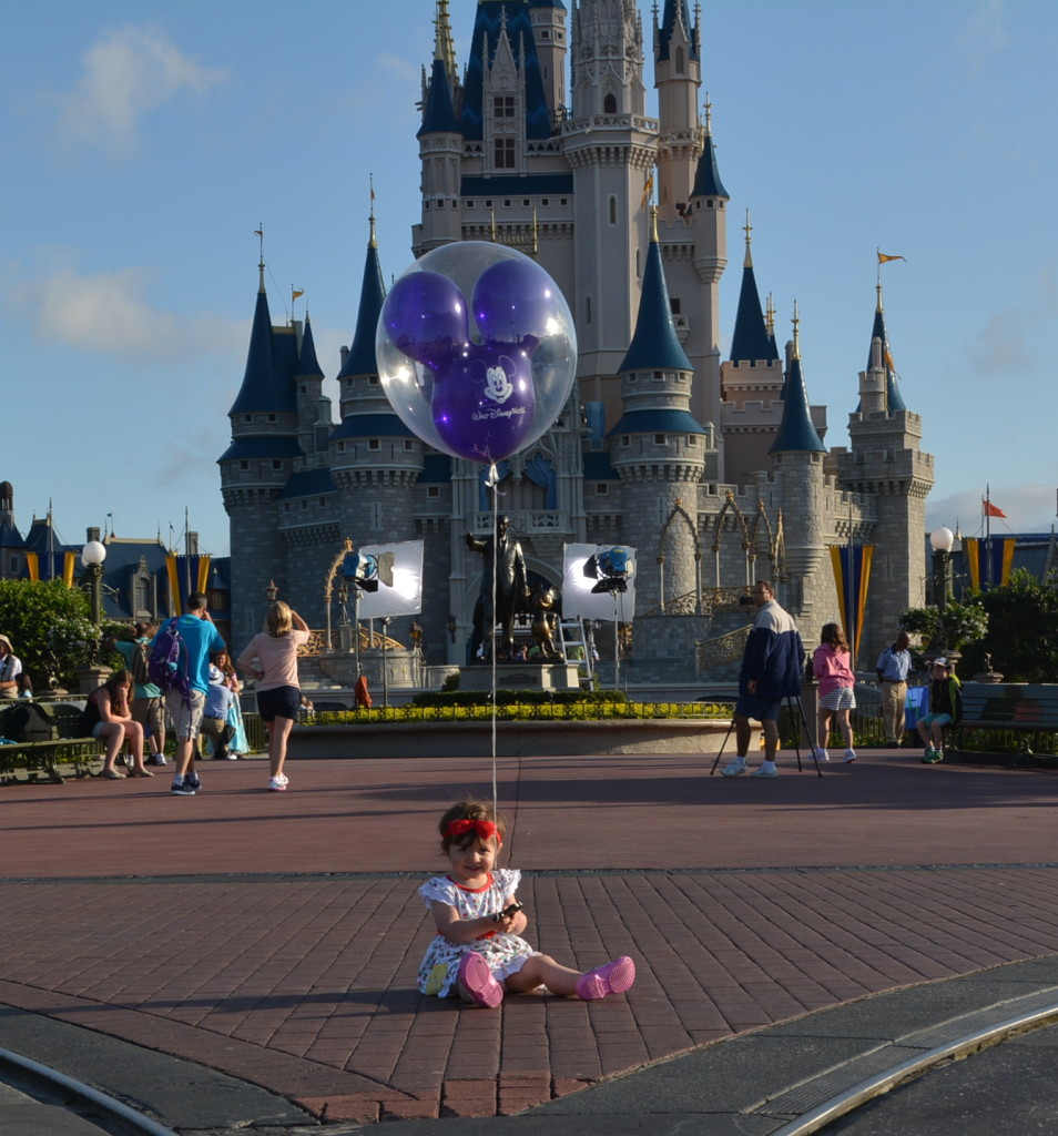 Our little girl, so happy to be in the happiest place on earth!