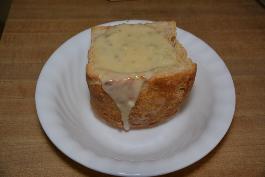 Bread Bowl With GF Soup (2)