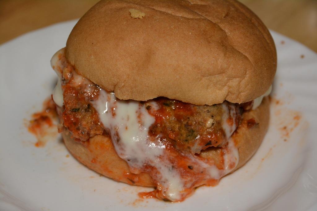 Gluten Free Meatball Sandwich