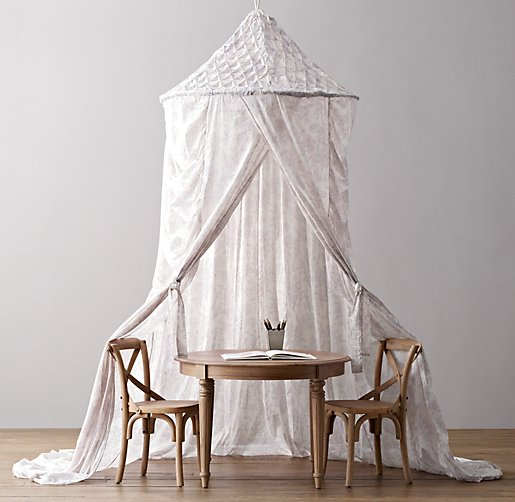 Floral Canopy Tent