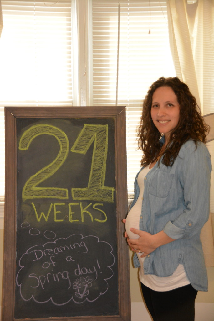 21 Weeks with Baby #2