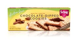Schar Gluten Free Chocolate- Dipped Cookies