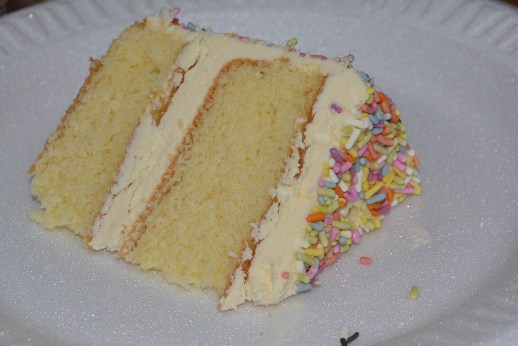 I love layered cakes!
