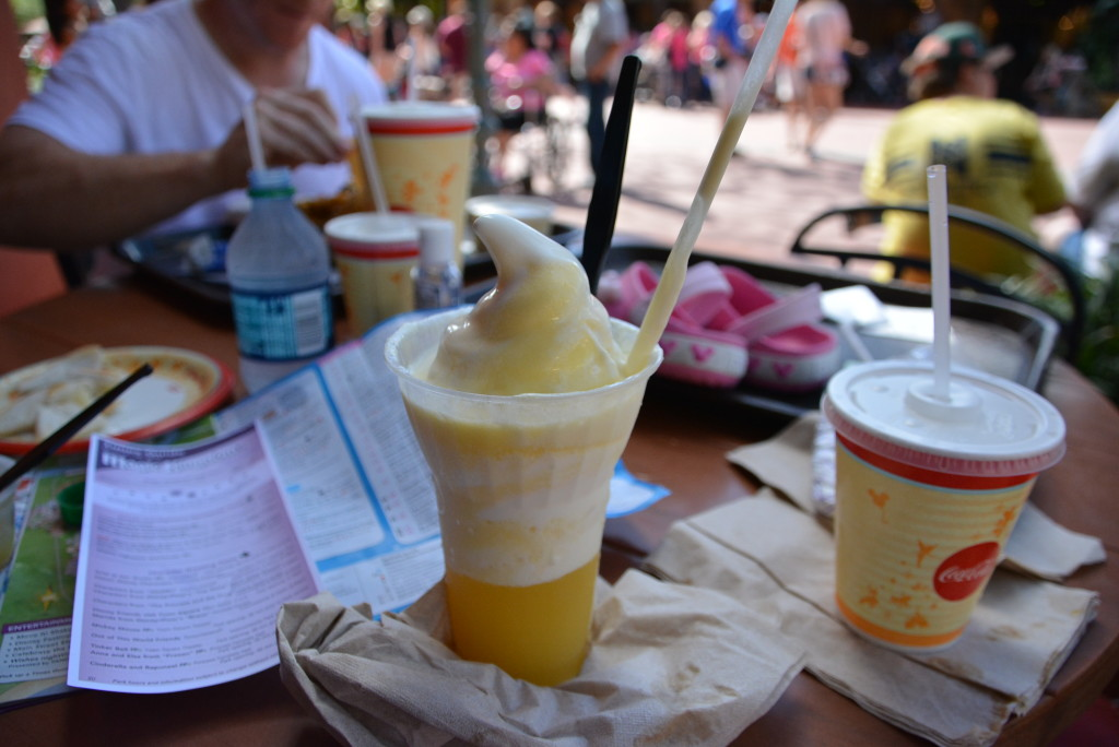 A Gluten Free Dole Whip Just For Mommy-To-Be!