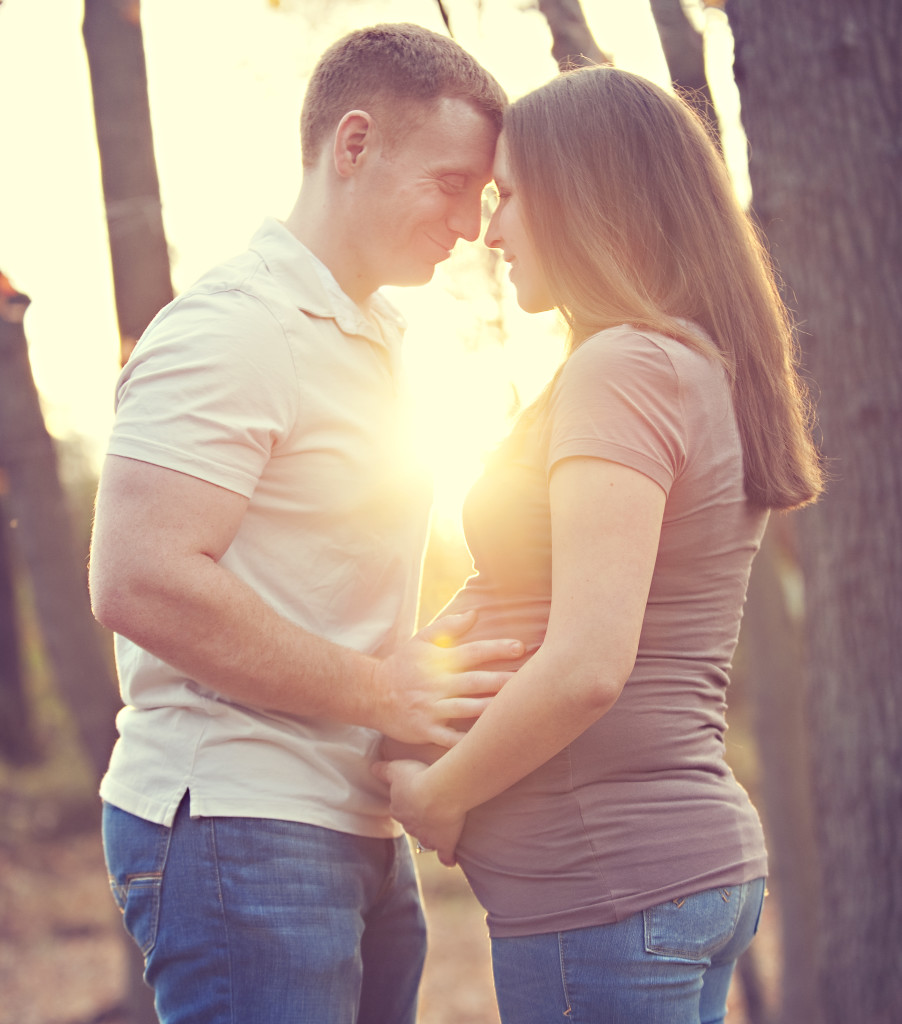 Maternity Pictures With Baby #1