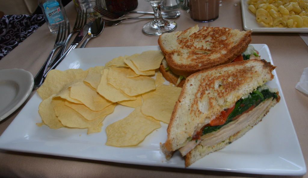 Gluten Free Sandwich at Cock n' Bull